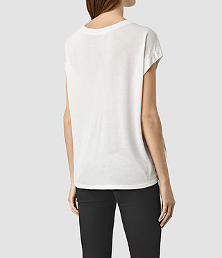 Womens Tokyo Pina Tee (Chalk White) - product_image_alt_text_3