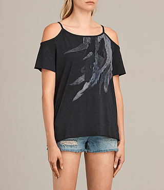 Women's Flight Tyra Tee (DARK NIGHT BLUE) - product_image_alt_text_2