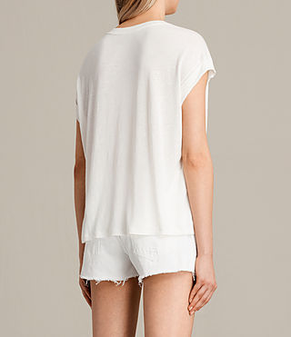 Mujer Camiseta Flight Pina (Chalk White) - product_image_alt_text_3