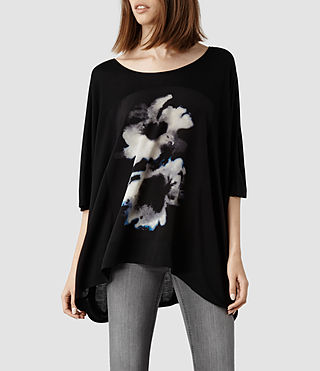 Womens Aura Top (Black)