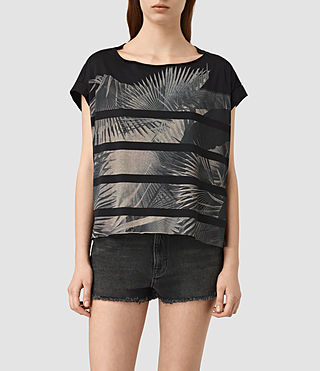 Women's Java Pina Tee (Black) -
