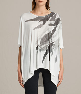 Damen Wing Dream Tee (Chalk White) -