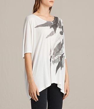 Mujer Camiseta Wing Dream (Chalk White) - product_image_alt_text_2