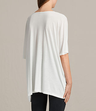 Mujer Camiseta Wing Dream (Chalk White) - product_image_alt_text_3
