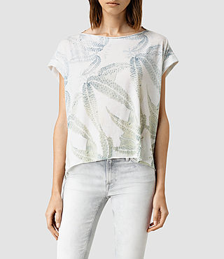 Womens Fuji Pina Tee (Chalk White)