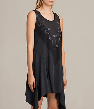 Women's Tany Loire Dress (DARK NIGHT BLUE) - Image 3