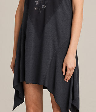 Women's Tany Loire Dress (DARK NIGHT BLUE) - product_image_alt_text_4