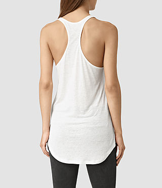 Donne Montauld Edge Vest (Chalk White) - product_image_alt_text_3