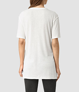 Womens Montauld Cadfer Tee (Chalk White) - product_image_alt_text_3