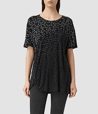 Womens Salix Mellon Tee (Black)
