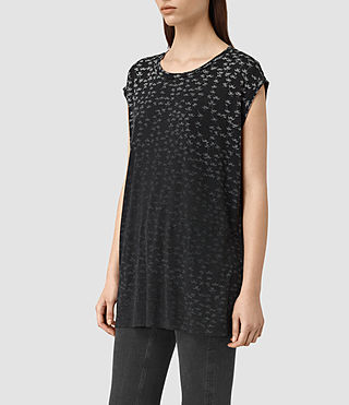 Damen Salix Brooke Tee (Black) - product_image_alt_text_3