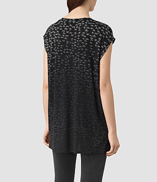 Damen Salix Brooke Tee (Black) - product_image_alt_text_4