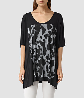 Damen Montauld Dream Tee (Black)