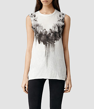 Womens Reap Tee (Chalk)