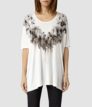 Womens Reap Top (Chalk)
