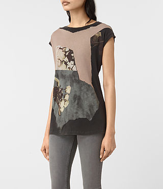 Damen Belle Brooke Tee (Faded Black) - product_image_alt_text_2