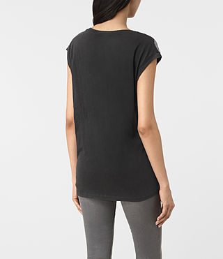 Damen Belle Brooke Tee (Faded Black) - product_image_alt_text_3