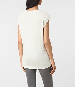 Damen Belle Brooke Tee (Chalk White) - product_image_alt_text_3