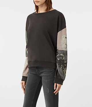 Mujer Sudadera Belle Lo (Fadeout Black) - product_image_alt_text_2
