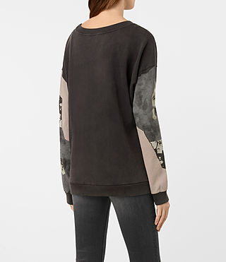 Mujer Sudadera Belle Lo (Fadeout Black) - product_image_alt_text_4