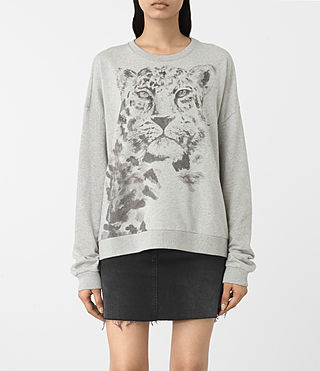 Femmes Javan Lo Sweat (Grey Marl)
