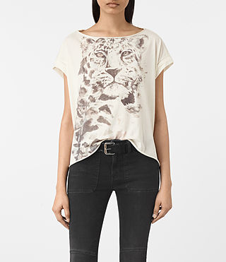 Donne T-shirt Javan Pina (Chalk White)