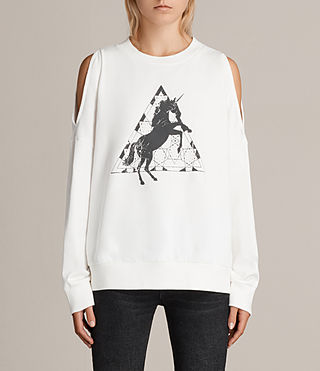 Femmes Sweat Spectrum Unai (Chalk) - Image 1