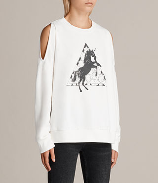Femmes Sweat Spectrum Unai (Chalk) - Image 2
