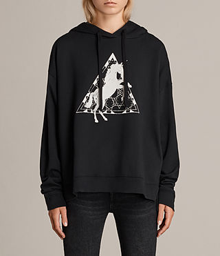 Womens Spectrum Lo Hoody (Black) - Image 1