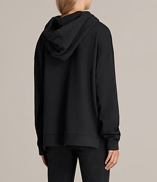 Womens Spectrum Lo Hoody (Black) - Image 3