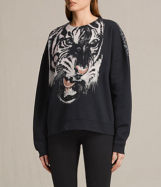 Damen Turan Lo Sweatshirt (Black) - product_image_alt_text_3