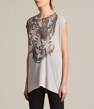 Donne T-shirt Turan Brooke (Grey Marl) - product_image_alt_text_2
