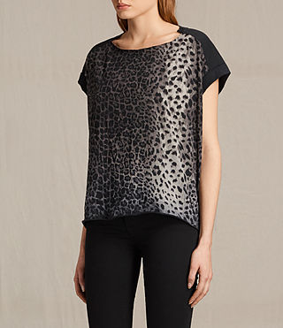 Mujer Adersi Pina Tee (Fadeout Black) - product_image_alt_text_2