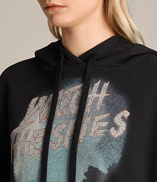 Women's Skies Lo Hoody (Black) - product_image_alt_text_2