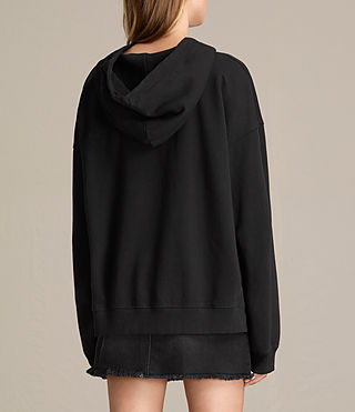 Women's Skies Lo Hoody (Black) - product_image_alt_text_4