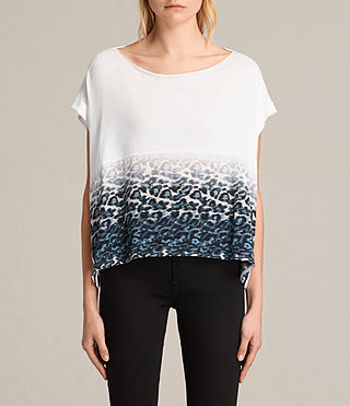 Womens Juba Pina Tee (Chalk White)
