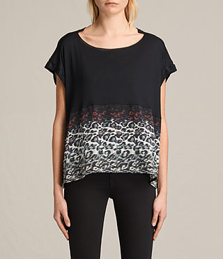 Womens Juba Pina Tee (Black)