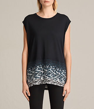 Femmes T-shirt Juba Brooke (Black) -