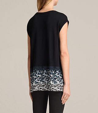 Femmes T-shirt Juba Brooke (Black) - product_image_alt_text_4