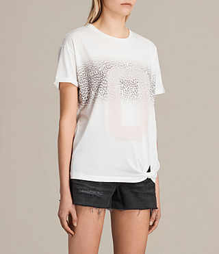 Donne T-shirt Zeroes Heny (Chalk White) - product_image_alt_text_2