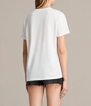 Donne T-shirt Zeroes Heny (Chalk White) - product_image_alt_text_3
