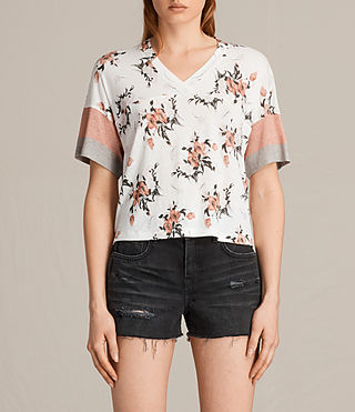 Mujer Kirsh Breeze Tee (PORCELAIN WHITE) -