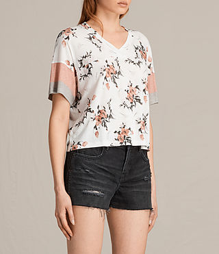 Mujer Kirsh Breeze Tee (PORCELAIN WHITE) - product_image_alt_text_2