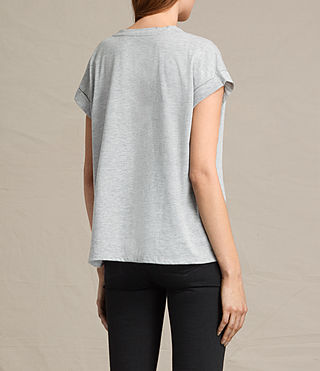 Donne T-shirt Lovebird Pina (Light Grey Marl) - product_image_alt_text_3