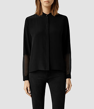 Womens Rivi Shirt (Black)