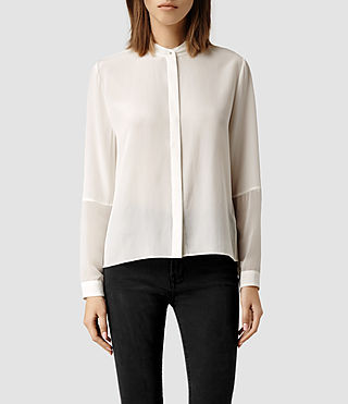 Womens Rivi Shirt (Chalk)