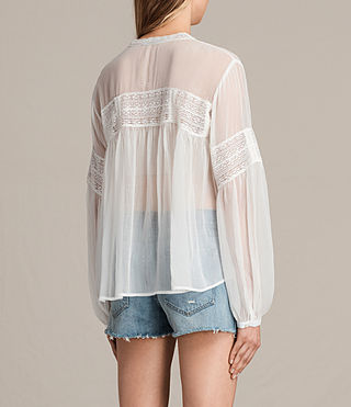 Womens Pinto Shirt (Chalk White) - product_image_alt_text_3