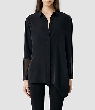 Womens Loui Shirt (Black)