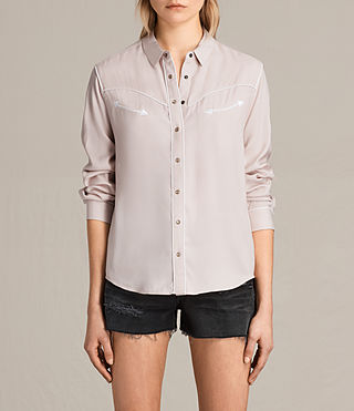 Mujer Camisa Adrienne (NUDE PINK) - product_image_alt_text_1