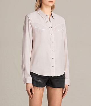 Mujer Camisa Adrienne (NUDE PINK) - product_image_alt_text_2